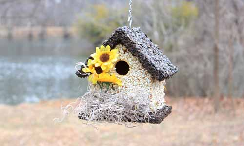 "12/14/2014: ""I received an Edible Birdhouse as a gift. LOVED it!. So I gave three more as gifts which were very well received."